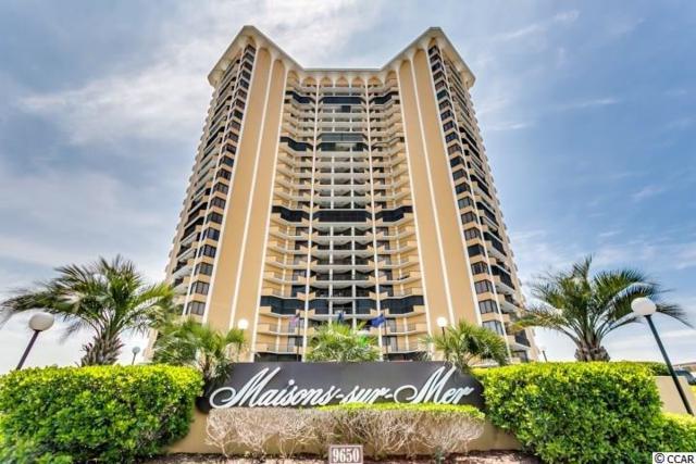 9650 Shore Dr. #1109, Myrtle Beach, SC 29572 (MLS #1917240) :: James W. Smith Real Estate Co.
