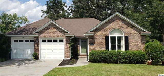 316 Jasmine Dr., Conway, SC 29527 (MLS #1917371) :: The Hoffman Group