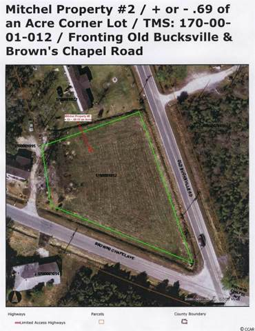 Old Bucksville Rd., Conway, SC 29527 (MLS #1918806) :: The Hoffman Group
