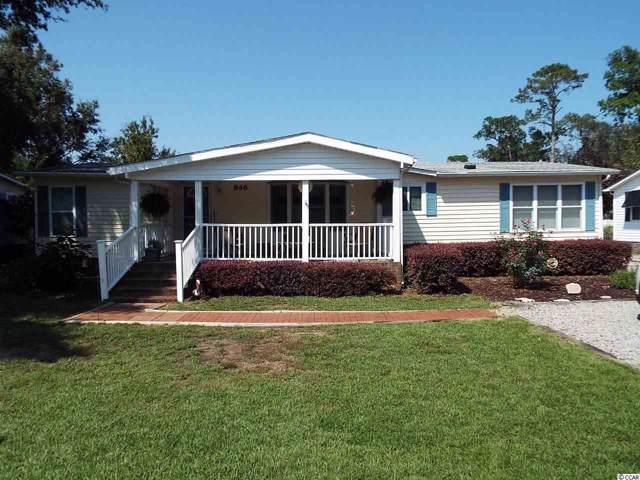 846 S Marlin Circle, Murrells Inlet, SC 29576 (MLS #1919772) :: The Hoffman Group
