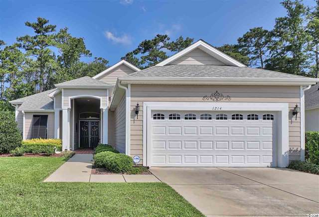 1214 Kiawah Loop, Murrells Inlet, SC 29576 (MLS #1919867) :: The Hoffman Group