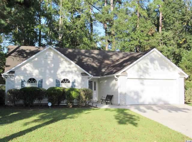 105 Heatherwood Ct., Myrtle Beach, SC 29588 (MLS #1920385) :: James W. Smith Real Estate Co.