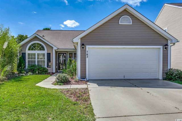 743 Pepperbush Dr., Myrtle Beach, SC 29579 (MLS #1920585) :: The Trembley Group | Keller Williams