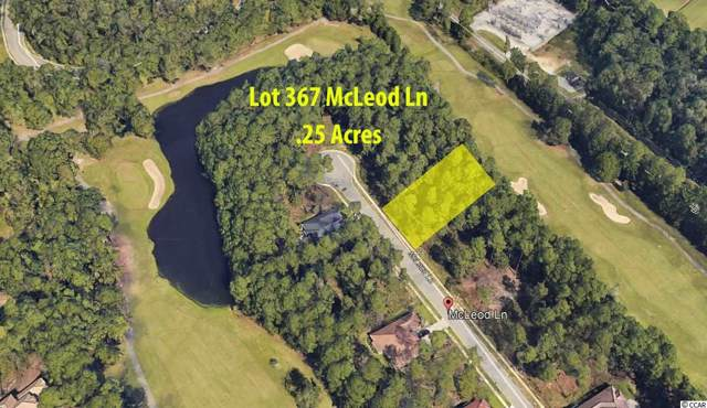 Lot 367 Mcleod Ln., Myrtle Beach, SC 29588 (MLS #1920633) :: The Hoffman Group