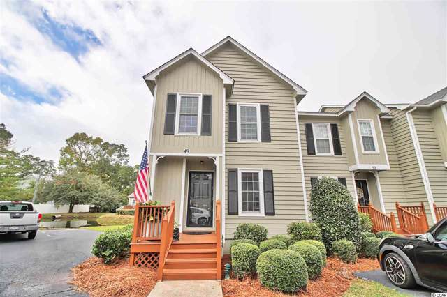 4840 Moss Creek Loop #49, Murrells Inlet, SC 29576 (MLS #1923108) :: Jerry Pinkas Real Estate Experts, Inc