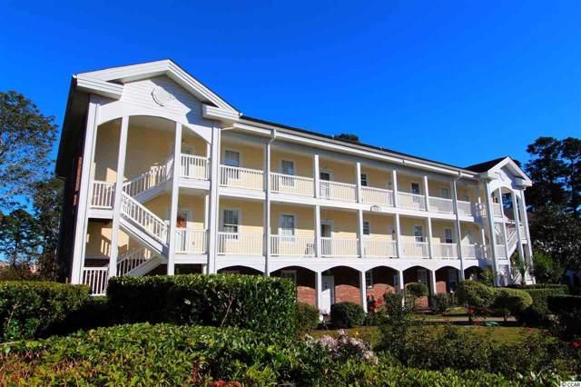 703 Riverwalk Dr. #103, Myrtle Beach, SC 29579 (MLS #1923599) :: SC Beach Real Estate