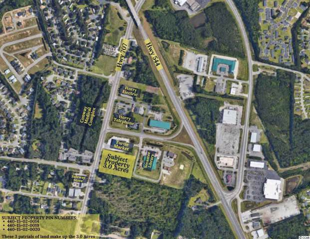 6189, 6163,6175 Highway 707, Myrtle Beach, SC 29588 (MLS #1924903) :: James W. Smith Real Estate Co.