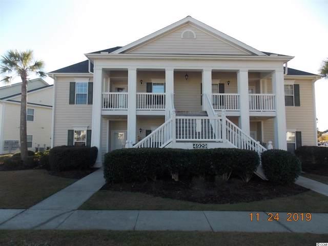 4929 Pond Shoals Ct. #101, Myrtle Beach, SC 29579 (MLS #1925113) :: SC Beach Real Estate