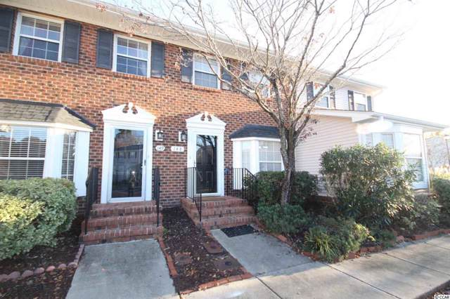 2925 Carriage Row Ln. #148, Myrtle Beach, SC 29577 (MLS #1925279) :: The Hoffman Group
