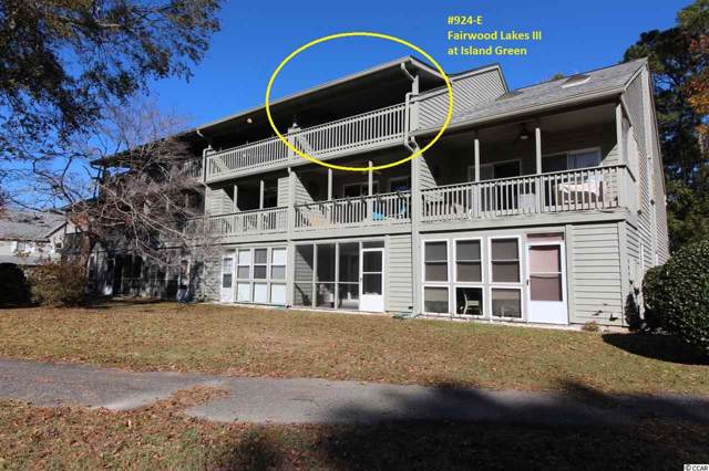 511 Fairwood Lakes Dr. 924-E, Myrtle Beach, SC 29588 (MLS #1925589) :: United Real Estate Myrtle Beach