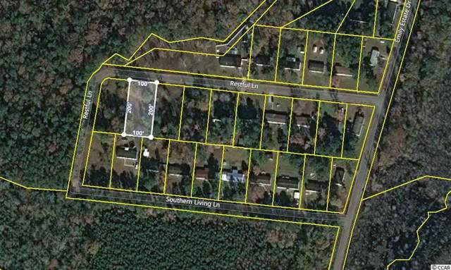 1308 Restful Ln., Conway, SC 29527 (MLS #1926066) :: The Litchfield Company