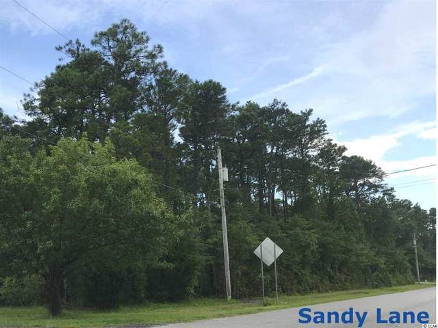 TBD Sandy Ln., Surfside Beach, SC 29575 (MLS #1926092) :: Jerry Pinkas Real Estate Experts, Inc