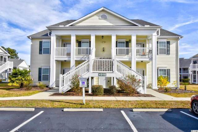 4916 Twin Pond Ct. #101, Myrtle Beach, SC 29579 (MLS #1926200) :: Sloan Realty Group