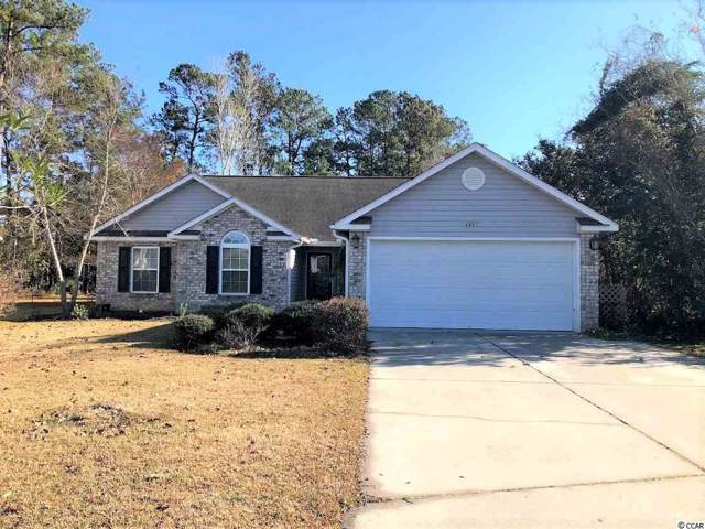 6887 King Arthur Dr., Myrtle Beach, SC 29577 (MLS #1926235) :: Sloan Realty Group