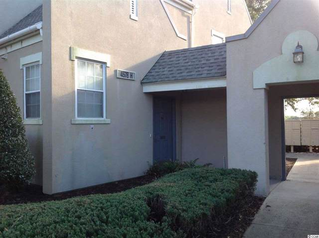 4578 Girvan Dr. #14H, Myrtle Beach, SC 29579 (MLS #2000220) :: James W. Smith Real Estate Co.