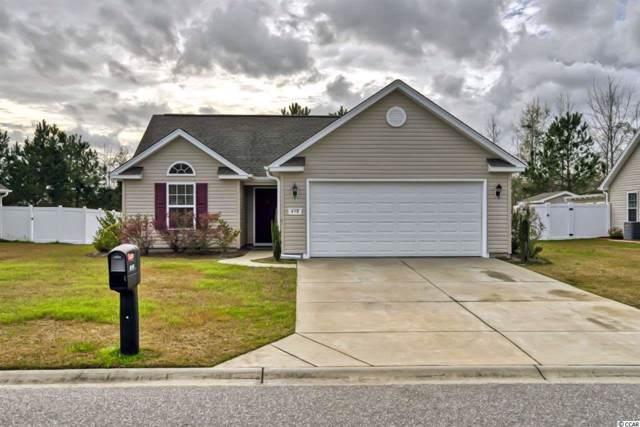 458 Barton Loop, Myrtle Beach, SC 29579 (MLS #2001096) :: Jerry Pinkas Real Estate Experts, Inc