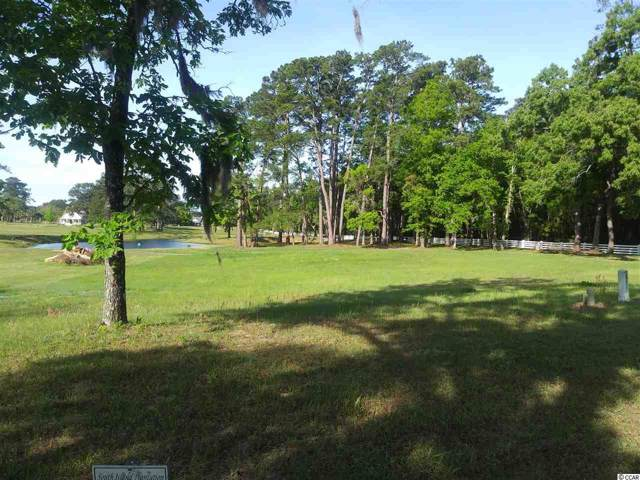 Lot 60 Lagrange Rd., Georgetown, SC 29440 (MLS #2001099) :: James W. Smith Real Estate Co.