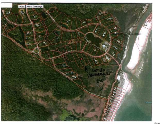 Lot 30 Vanderbilt Blvd., Pawleys Island, SC 29585 (MLS #2001127) :: Grand Strand Homes & Land Realty