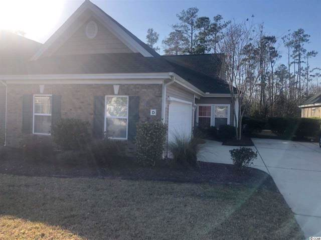 301 Nut Hatch Ln. D, Murrells Inlet, SC 29576 (MLS #2001828) :: The Greg Sisson Team with RE/MAX First Choice