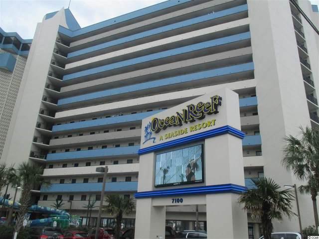 7100 N Ocean Blvd. #703, Myrtle Beach, SC 29577 (MLS #2004960) :: Leonard, Call at Kingston