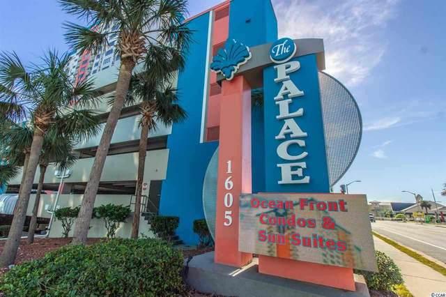 1605 S Ocean Blvd. #206, Myrtle Beach, SC 29577 (MLS #2006387) :: Garden City Realty, Inc.