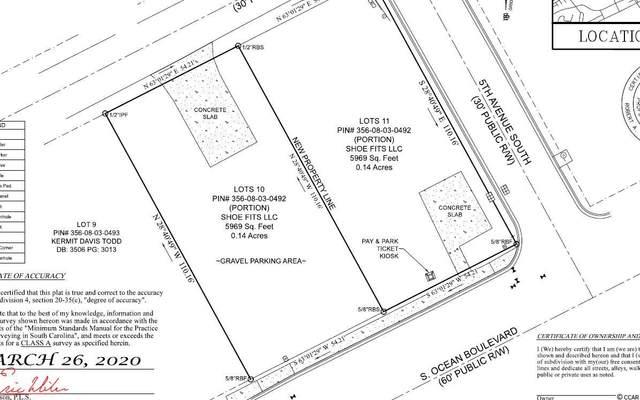 500 South Ocean Blvd., North Myrtle Beach, SC 29582 (MLS #2007149) :: The Lachicotte Company