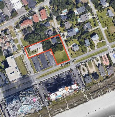 0.89 acres N 4th Ave. N, North Myrtle Beach, SC 29582 (MLS #2007325) :: The Litchfield Company