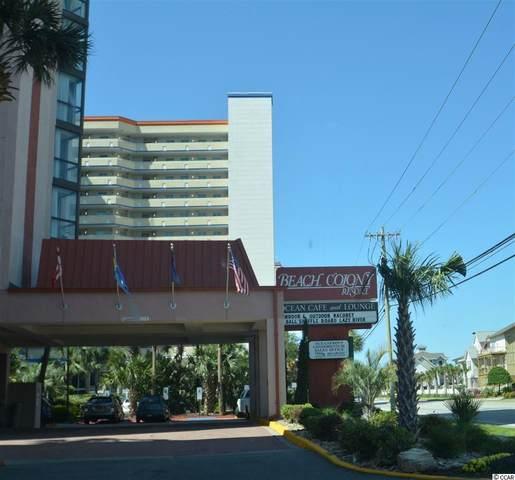 5308 N Ocean Blvd. #206, Myrtle Beach, SC 29577 (MLS #2009947) :: The Litchfield Company