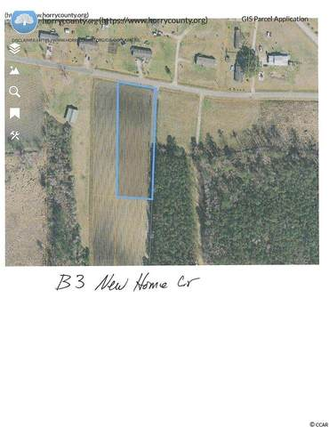 Lot B3 New Home Circle, Conway, SC 29526 (MLS #2010609) :: The Lachicotte Company
