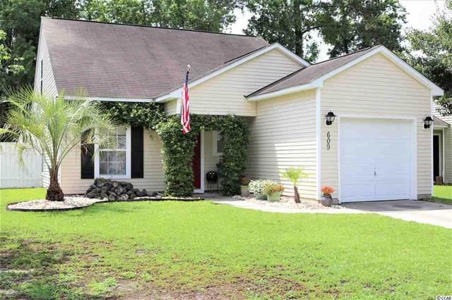 609 Oakhurst Dr., Myrtle Beach, SC 29579 (MLS #2011070) :: Garden City Realty, Inc.