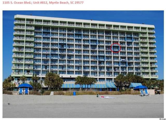 1105 S Ocean Blvd. #812, Myrtle Beach, SC 29577 (MLS #2011367) :: Leonard, Call at Kingston