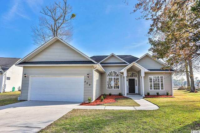 558 Circle Dr., Surfside Beach, SC 29575 (MLS #2013538) :: The Litchfield Company