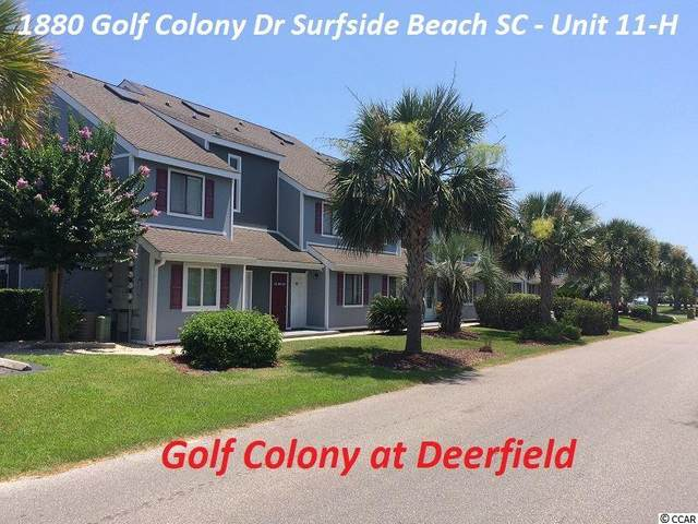 1880 Colony Dr. 11-H, Surfside Beach, SC 29575 (MLS #2014868) :: James W. Smith Real Estate Co.