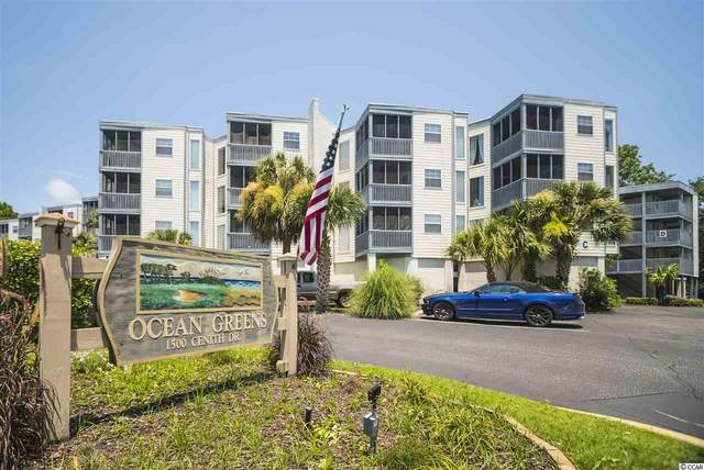 1500 Cenith Dr. F-303, North Myrtle Beach, SC 29582 (MLS #2015286) :: The Lachicotte Company
