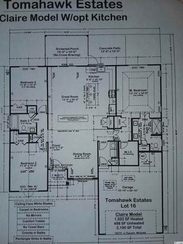 129 Herrmann Ridge Ct., Myrtle Beach, SC 29579 (MLS #2017724) :: Jerry Pinkas Real Estate Experts, Inc