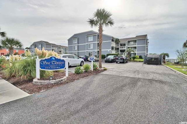515 N Ocean Blvd. 301-A, Surfside Beach, SC 29575 (MLS #2018997) :: Coastal Tides Realty