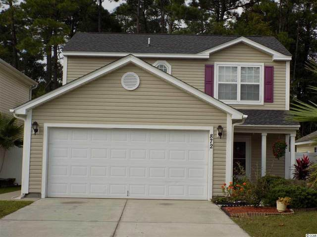 872 Silvercrest Dr., Myrtle Beach, SC 29579 (MLS #2021660) :: Welcome Home Realty