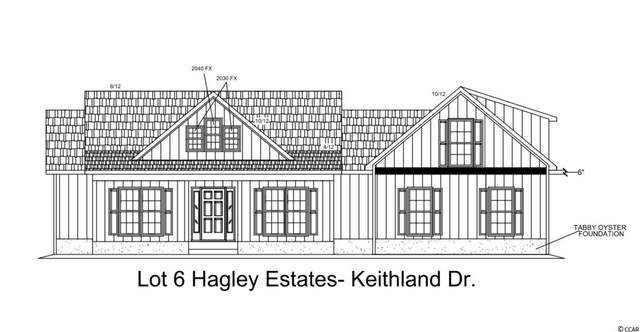 TBD Lot 6 Keithland Dr., Pawleys Island, SC 29585 (MLS #2022460) :: Duncan Group Properties