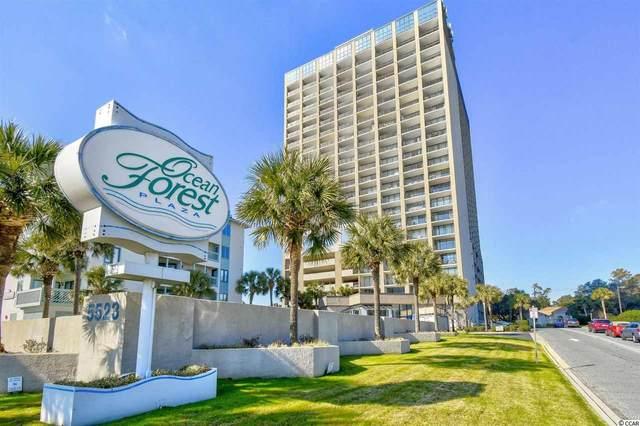 5523 N Ocean Blvd. #801, Myrtle Beach, SC 29577 (MLS #2023207) :: Duncan Group Properties