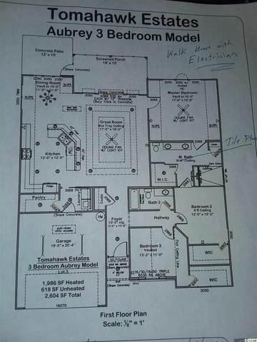 108 Herrmann Ridge Ct., Myrtle Beach, SC 29579 (MLS #2023273) :: Sloan Realty Group