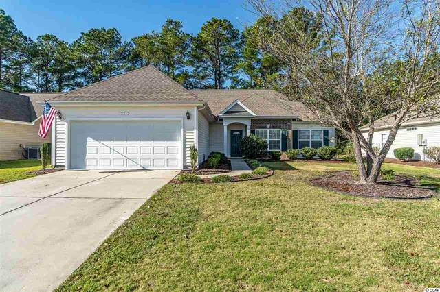 221 Carriage Lake Dr., Little River, SC 29566 (MLS #2025326) :: Right Find Homes