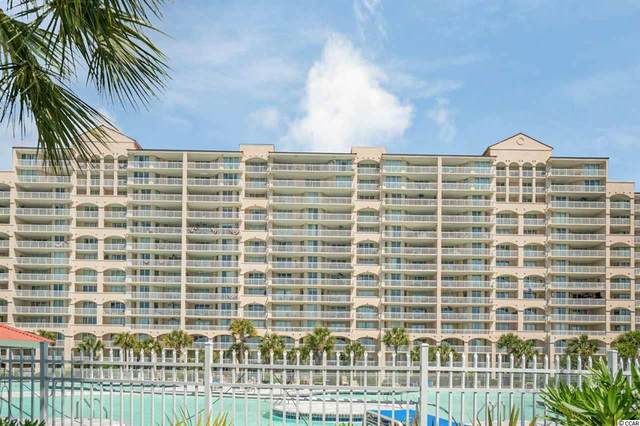 4801 Harbour Pointe Dr. #1008, North Myrtle Beach, SC 29582 (MLS #2026056) :: The Litchfield Company