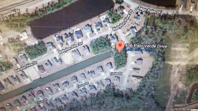 406 Palo Verde Dr., Myrtle Beach, SC 29579 (MLS #2100196) :: The Litchfield Company
