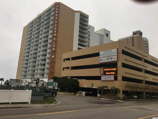 9550 Shore Dr. #1619, Myrtle Beach, SC 29572 (MLS #2100604) :: The Greg Sisson Team
