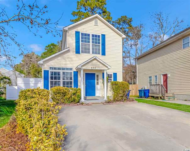 830 Brenda Pl., Myrtle Beach, SC 29577 (MLS #2100613) :: The Litchfield Company