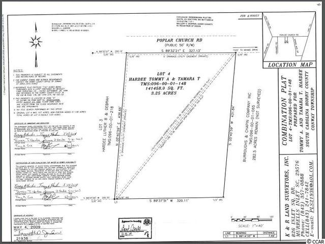 3120 Poplar Church Rd., Aynor, SC 29511 (MLS #2100838) :: Coldwell Banker Sea Coast Advantage