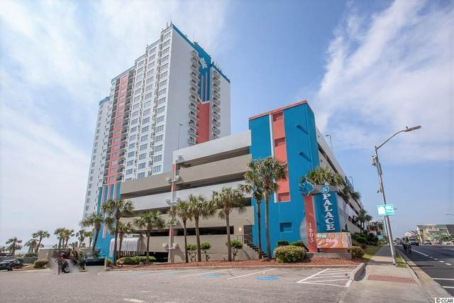 1605 S Ocean Blvd. #911, Myrtle Beach, SC 29577 (MLS #2101658) :: The Litchfield Company