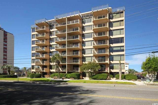 7601 N Ocean Blvd. Unit A4, Myrtle Beach, SC 29572 (MLS #2103062) :: Grand Strand Homes & Land Realty