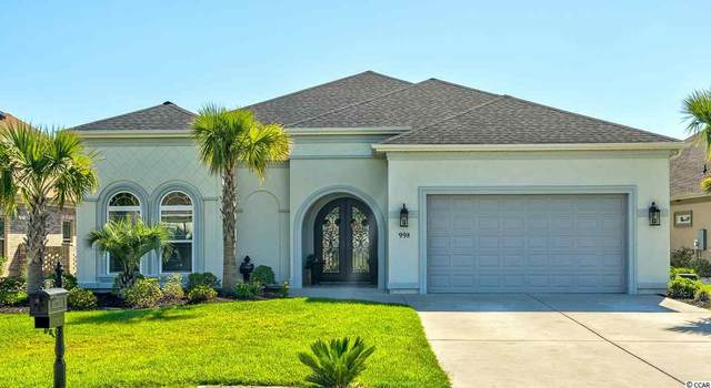 998 Bluff View Dr., Myrtle Beach, SC 29579 (MLS #2103665) :: Grand Strand Homes & Land Realty