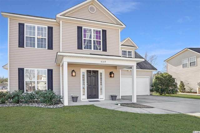 4149 Steeple Chase Dr., Myrtle Beach, SC 29588 (MLS #2103994) :: Leonard, Call at Kingston